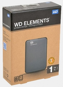 Внешний HDD WD Elements Portable USB 3.0